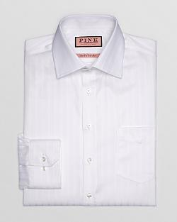 Race Texture Dress Shirt - Classic Fit by Thomas Pink in Jersey Boys