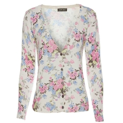 Floral Print Pattern Cardigan by Locomo Outerwears in Me and Earl and the Dying Girl