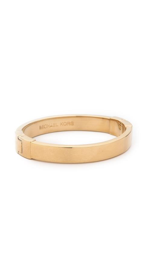 Hinged Bangle Bracelet by Michael Kors in The Other Woman