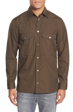 'Greenland' Regular Fit Sport Shirt by Fjällräven in GoldenEye
