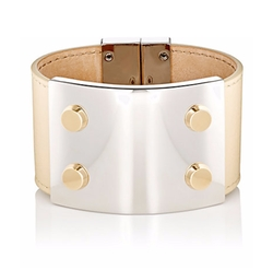 Stud Clasp Cuff Bracelet by Balenciaga in Empire
