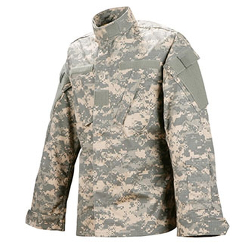 Digital Camo Army Combat Uniform Jacket by Tru-Spec in Love the Coopers