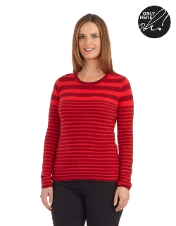 Striped Cashmere Sweater by Lord & Taylor in The Visit