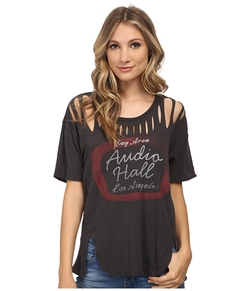 Tri-Blend All Tore Up Graphic T-Shirt by Free People in Pretty Little Liars