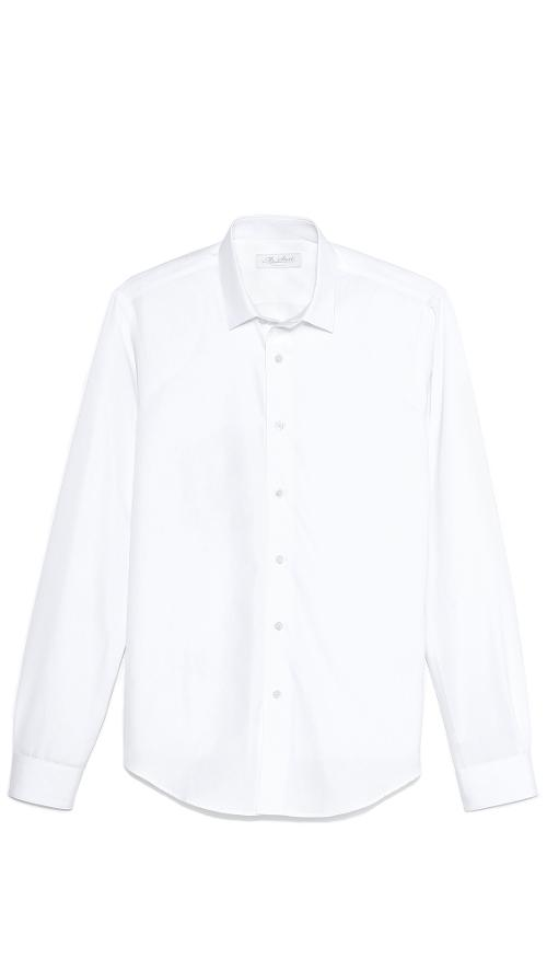 Square Collar Oxford Shirt by Mr. Start in Get On Up