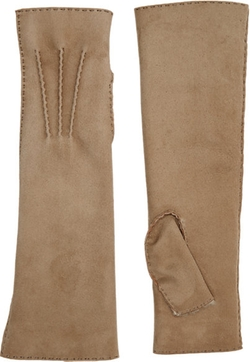 Shearling-Lined Long Gloves by Barneys New York in Scream Queens