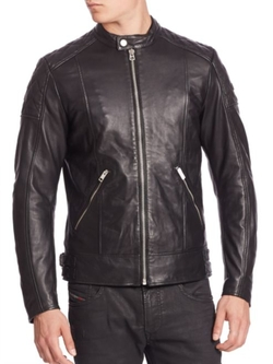 Marton Leather Jacket by Diesel  in xXx: Return of Xander Cage