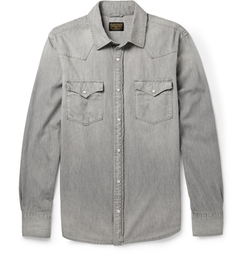 Denim Shirt by Jean Shop in Mission: Impossible - Ghost Protocol