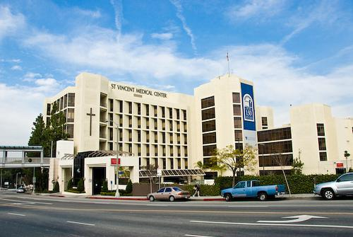 St. Vincent Medical Center Los Angeles, California in Captain America: The Winter Soldier