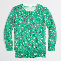 Retro Floral Clare Cardigan by J.Crew Factory in Pitch Perfect 2