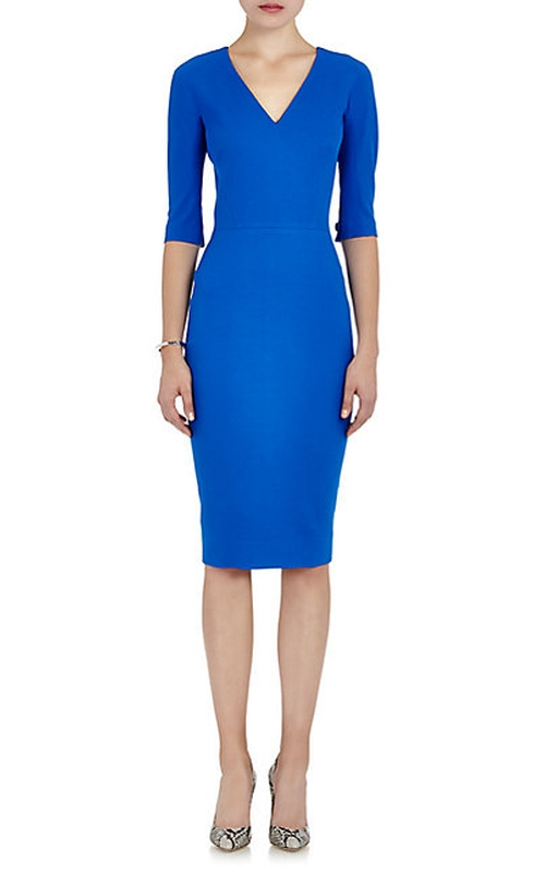 Faille Sheath Dress by Victoria Beckham in Veep