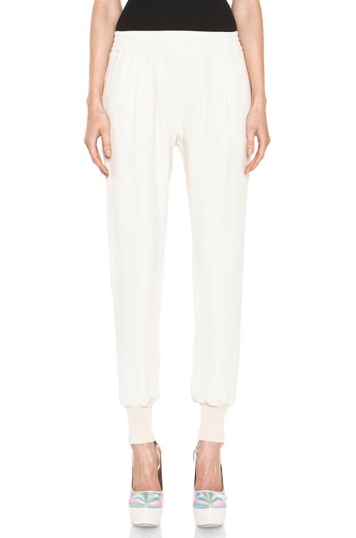Dahlia Mix Cady Trouser In Calico by Stella Mccartney in The Other Woman