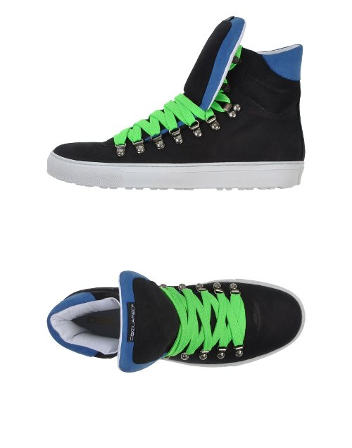 High Top Sneakers by Dsquared2 in Begin Again