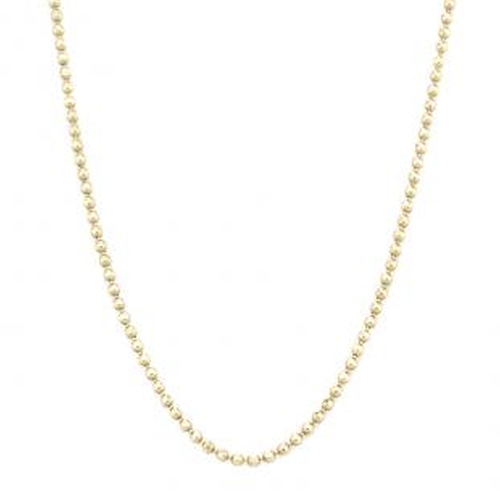 Faceted Bead Chain Necklace by Vale Jewelry in Billions - Season 1 Episode 2