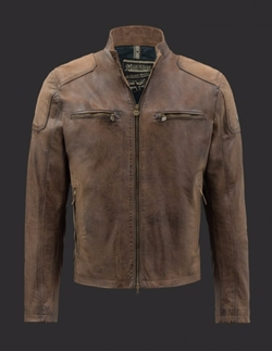 Captain America Celebration Leather Jacket by Matchless in Captain America: Civil War