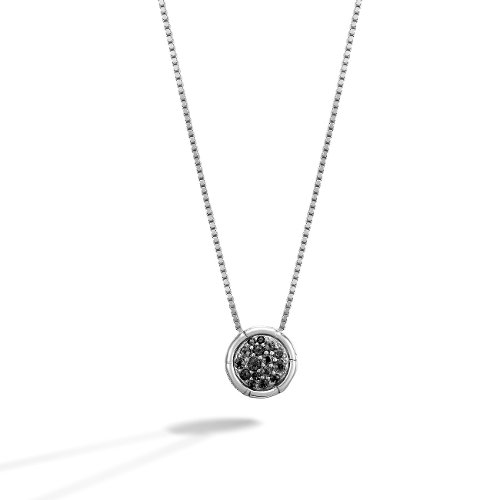 Round Pendant on Whisper Chain Necklace by John Hardy in John Wick