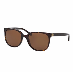Slim Square Polarized Sunglasses by Tory Burch in Ingrid Goes West