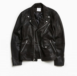 UO Beatdown Leather Moto Jacket by Urban Outfitters in Shadowhunters