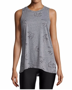 Bird-Print Tank Top by Terez in Bad Moms