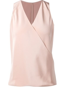 Sleeveless V-Neck Tank Top by Peter Cohen in Suits