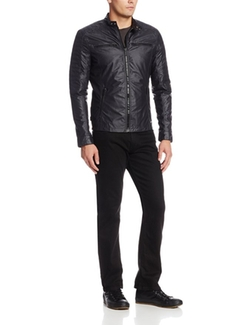 Coated Basic Moto Jacket by Calvin Klein in The Flash