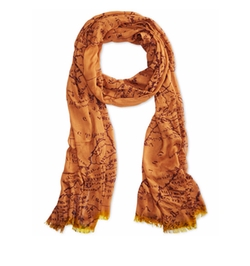 Vintage Rose Scarf by Patricia Nash in Grace and Frankie