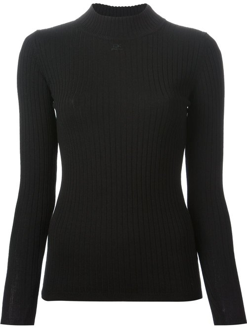 Ribbed Turtle Neck Sweater by Courrèges in That Awkward Moment