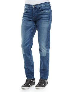 Blake Soto Slim-Straight Leg Denim Jeans by Hudson Jeans in Hitman: Agent 47