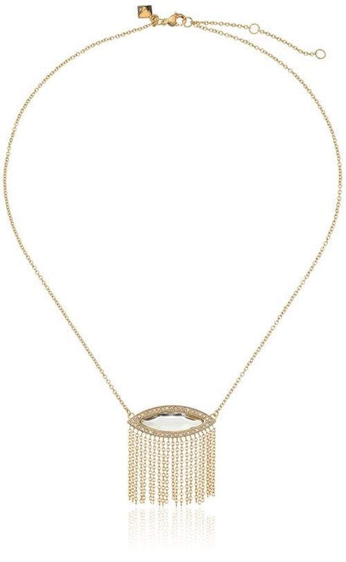 Fringe Pendant Necklace by Rebecca Minkoff in The Vampire Diaries - Season 7 Episode 5