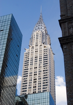 New York City, New York by Chrysler Building in Confessions of a Shopaholic
