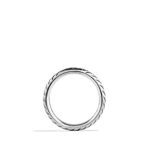 Modern Chevron Band Ring by David Yurman in Get Hard