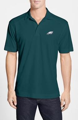 DryTec Moisture Wicking Polo Shirt by Cutter & Buck in Black Mass
