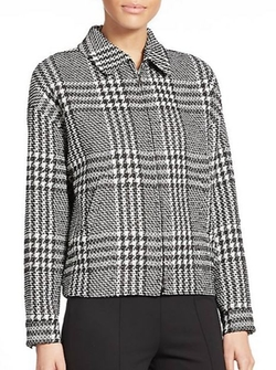 Houndstooth Check Jacket by Escada in We Are Your Friends