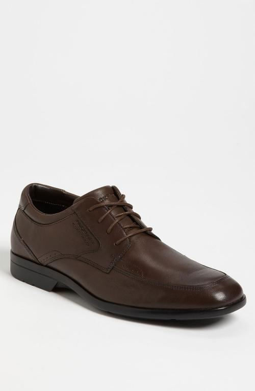 Business Lite Apron Toe Oxford Derby Shoe by Rockport in We're the Millers