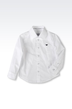 Stretch Poplin Shirt by Armani Junior in Before I Wake