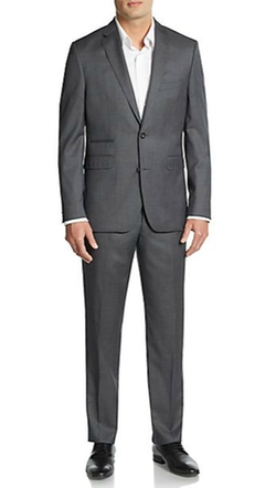 Slim-Fit Wool Suit by Vince Camuto in Modern Family