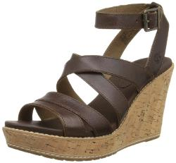 Women's Danforth Cork Wedge Sandal by Timberland in The Disappearance of Eleanor Rigby