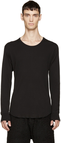 Long Sleeve T-Shirt by Attachment in Empire