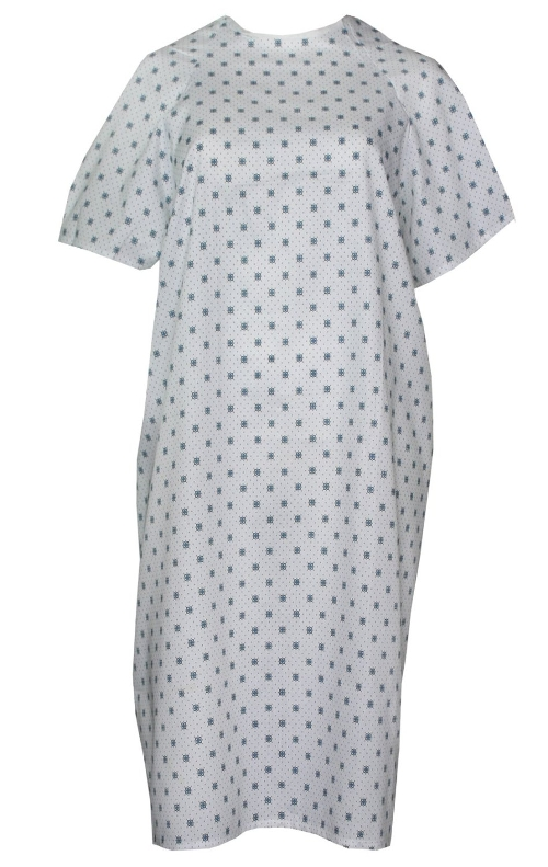 Velcro Brand Hospital Gown by Nobles Health Care Products in The Gift