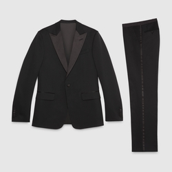 Signoria Stretch Wool Tuxedo by Gucci in Batman v Superman: Dawn of Justice
