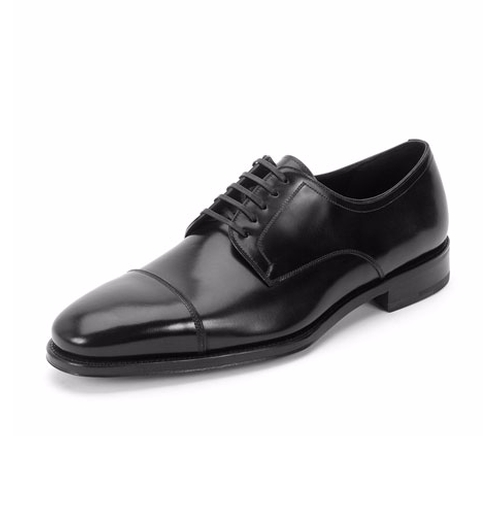 Mabel Cap-Toe Lace-Up Oxford Shoes by Salvatore Ferragamo in Suits - Season 6 Episode 10