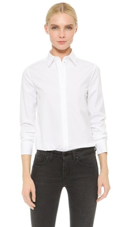 Classic Shirt by Victoria Victoria Beckham  in Elementary