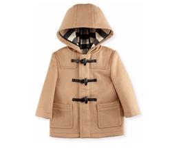 Brogan Hooded Duffle Coat by Burberry in Logan