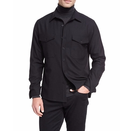 Twill Military Shirt by Vince in Shadowhunters