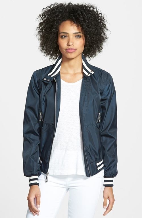 Front Zip Bomber Jacket by Vince Camuto in Rock The Kasbah