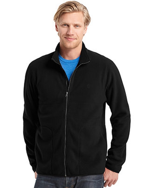 Big and Tall Full-Zip Fleece Jacket by Izod in The Boy