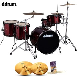 Journeyman Wine Red Drum Set by Ddrum in Begin Again