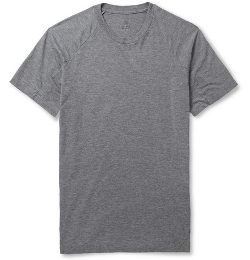 Pieced Zip-Pocket Jersey T-Shirt by Aether in Fast Five