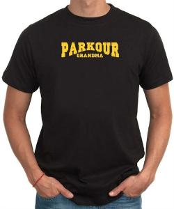 Parkour Grandma Men T-Shirt by Idakoos in What If