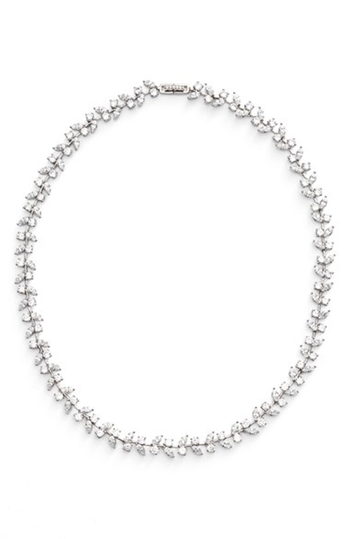 'Josephine' Collar Necklace by Nadri in Ocean's Eleven
